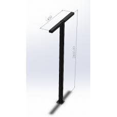 Ліхтарі для вуличного освітлення T-подібні (з LED-матрицею) Dimol