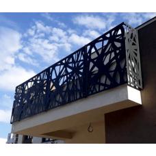 Металлическая обрешетка для балконов Dimol